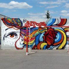 Marcelo Ment @marceloment Paris junho de 2012 ... Detail with my friend @brunobig at Paris hip-hop festival... Pic by #panoramix #mentone #marceloment #brunobig #paris #graffiti 2013
