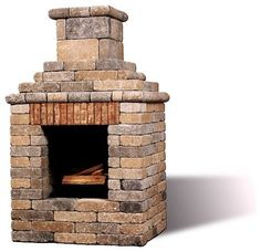 DIY outdoor fireplace: can't be that much harder than the boys' lego sets, right?