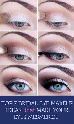 Top 7 Bridal Makeup Ideas that Make Your Eyes Mesmerize