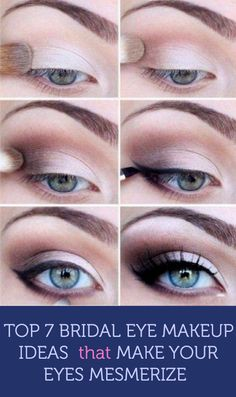 Top 7 Bridal #Eye #Makeup Ideas that Make Your Eyes Mesmerize