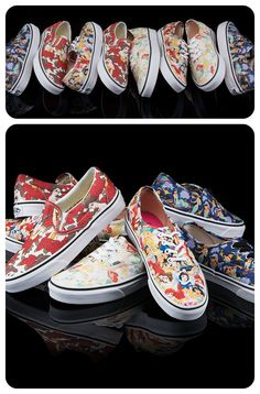 You're never too old for princess-patterned Vans. Get your pair and relive your childhood.