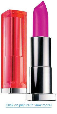 Maybelline New York Color Sensational Vivids Lipcolor Hot Plum - 0.15 Oz, Pack of 2