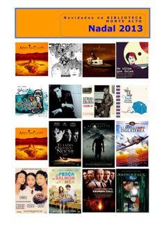 Novidades de música e cine para adultos na biblioteca de Monte Alto.