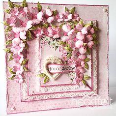 Heartfelt Creations Hello Spring project.