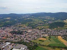Bensheim aus der Luft #Bensheim (Foto: Stadt Bensheim)
