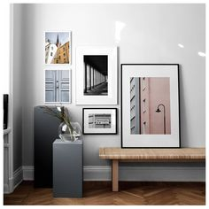 Find inspiration for creating a picture wall of posters and art prints. Endless inspiration for gallery walls and inspiring decor. Create a gallery wall with framed art from Desenio. Nordic Interior, Painting People, Inspirational Wall Art, Living Room Inspiration, Wall Colors, Decoration, Picture Wall, Scandinavian Design, Collages