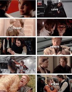 Star Wars relationships