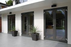 17 Best Ideas For Garden Seating Area French Doors Door Design Interior, Interior Barn Doors, Exterior Design, Interior Designing, House Windows, Windows And Doors, House Extension Design, Extension Ideas, 1960s House