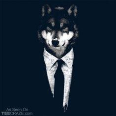Mr Wolf T Shirt