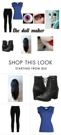 """""""The Doll Maker Creepypasta Girl Outfit"""" by marcykxx ❤ liked on Polyvore featuring Madden Girl, STELLA McCARTNEY and Velvet by Graham & Spencer"""