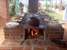 rocket stove and grill Outdoor Grill Area, Outdoor Stove, Outdoor Tables, Outdoor Decor, Wood Oven, Wood Fired Oven, Outdoor Kitchen Design, Rustic Kitchen, Rocket Stoves
