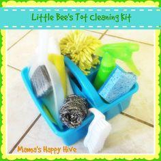 Montessori Tot Self Care | Mama's Happy Hive