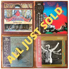 Heavy Rock, Rare Vinyl, Rock Music, Ufo, Vinyl Records, Good News, Turning, Strong, Japanese