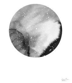 Samantha Hahn Print 2, Deep Space   Little Paper Planes