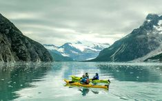 You Can Kayak Among Giant Glaciers and Humpback Whales in Alaska