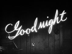 good night (neon)