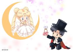 Dibujos. Clipart. Digi stamps - Wedding - Novios - Boda - Do You Marry Me? - Mystic Sailor Moon