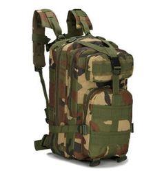 Men Women Military Army Backpack Trekking Camouflage rucksack black sac a dos casual ACU Green Black german french bag