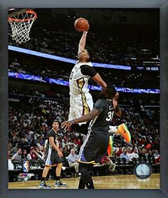 Amazon.com  Anthony Davis New Orleans Pelicans 2015-2016 NBA Action Photo  (Size  12