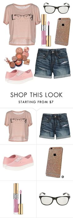 """Live Life To The Fullest"" by emmy-awards ❤ liked on Polyvore featuring ONLY, Canvas by Lands' End, Vans and Yves Saint Laurent"