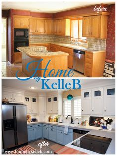 Home By KelleB | Kitchen Remodel Before U0026 After | Www.homebykelleb.com
