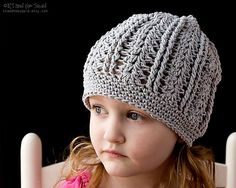 This gorgeous hat works up very quickly. It is designed to be made in cotton yarn which is great for warmer months. While cotton is suggested some testers used acrylic and got the same amazing resu…
