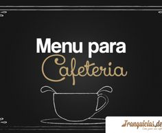 Menú para Cafeteria Coffee Corner, Coffee Time, Coffee Break, Book Cafe, Bussines Ideas, Café Bar, Coffee Places, Cafe House, Cafe Shop