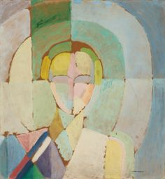 ♀ Painted Art Portraits ♀  Robert Delaunay   Portrait de Madame Heim