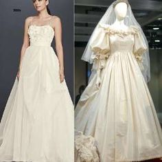 Watch the evolution of wedding dresses since 1915 Wedding dresses have moved from being too conservative to being more way too sexy. Today's brides want more of their skin exposed.