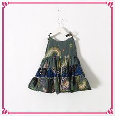 2015 New Kids Girls Vintage Floral Dresses Princess Sleeveless Patchwork Ruffled Braces Party Dresses Cute Baby 2-6T Girls Summer Dress Online with $11.95/Piece on Smartmart's Store | DHgate.com