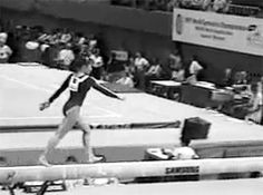 She just casually rebounds out of her leap like it's nbd. Four for you, Ludivine! (gif of Ludivine Furnon)