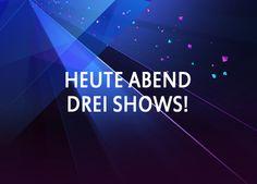 Heute Abend: Drei Shows - http://www.eurovision-austria.com/heute-abend-drei-shows/