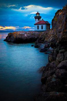 ✮ Lime Kiln Point lighthouse - WA