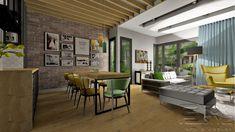 livingroom, dining room