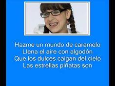 Atrevete A Soñar - Mundo de Caramelo (Danna Paola) + Letra de la cancion - YouTube