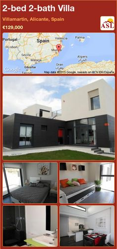 2-bed 2-bath Villa in Villamartin, Alicante, Spain ►€129,000 #PropertyForSaleInSpain