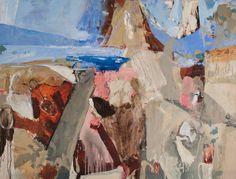 Luke Sciberras > Montemarcello, Italy Australian Painters, Australian Artists, Sketchbook Project, Landscape Art, Printmaking, Contemporary Art, Abstract Art, Gallery, Artwork