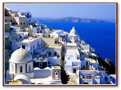 Greece! I would be satisfied to visit any part of this country, but this looks nice :)
