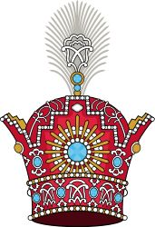 Pahlavi Crown of Imperial Iran (heraldry)