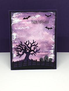 Ditjes en datjes Halloween Cards, Happy Halloween, Stampin Up, Harry Potter, Collage, Watercolor, Retro, Party, Fun