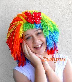 Clown Wig-