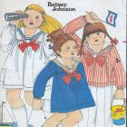 Vintage 70s Butterick 5280 Betsy Johnson Girls' Sailor Dress