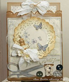 A paper bag card featuring the For Mother collection