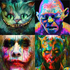 All of these sweet images are by the incomparable Nicky Barkla and are available as gorgeous glass prints in our Art Store (http://www.fractureme.com/art-store) ! #Friday13th