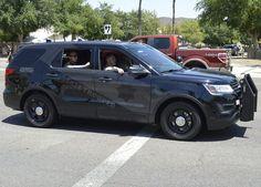 Arizona Dept. of Public Safety 'Ghost' Ford Interceptor SUV