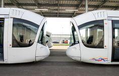Tranvias Citadis de #Alstom para Lyon #Railway #LightRail