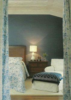 Quarto azul Casa Claudia