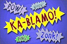 Ka-Blamo! Font | dafont.com