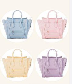 neon pink celine bag - The Many Colors of Celine Luggage Tote on Pinterest | Celine Bag ...