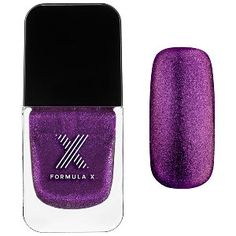 Formula X Liquid Crystals in Equinox - purple micro-glitter in sheer purple #sephora